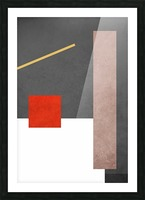 Shapes 03 - Abstract Geometric Art Print Picture Frame print