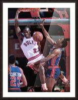1985 Rising Star Michael Jordan Print  Picture Frame print