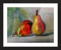 Pears Picture Frame print