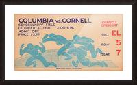 1931 Cornell vs. Columbia Picture Frame print