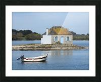 house saint Cado Bretagne Picture Frame print
