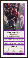 1988 Oklahoma Sooners vs. Kansas State Picture Frame print