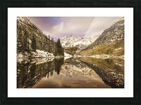 Maroon Bells Fall Picture Frame print