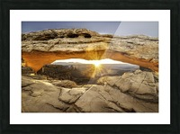 The Great Eye Picture Frame print