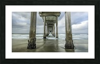 The Gate to the Storm Picture Frame print