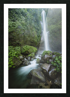 Sekumpul Waterfall  Picture Frame print