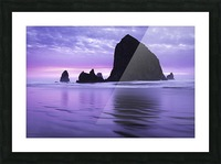 Cannon Beach Picture Frame print