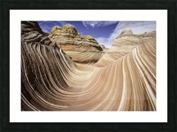 Sand Waves Picture Frame print