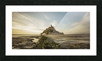 Tides of Normandie Picture Frame print