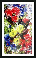 Primary Blossom 1 Picture Frame print