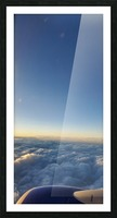 Above The Clouds Picture Frame print
