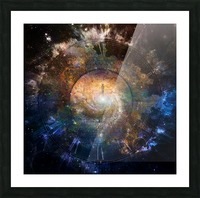The Path to Eternity Picture Frame print