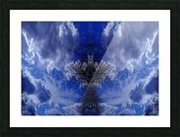 Cloudes 81 Picture Frame print