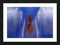 Cloudes 84 Picture Frame print