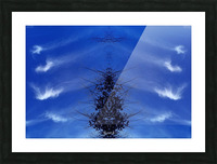 Cloudes 85 Picture Frame print