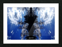 Cloudes 87 Picture Frame print