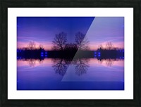Cloudes 91 Picture Frame print