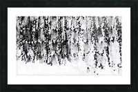 Black & White Texture Art Picture Frame print