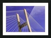 Talmadge Memorial Bridge   Savannah 04212 Picture Frame print
