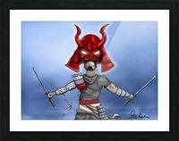 Samurai Picture Frame print