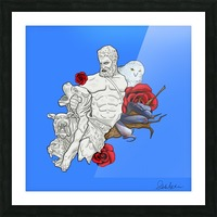 Beast Tamer Picture Frame print