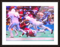 1984 Red River Storm Picture Frame print