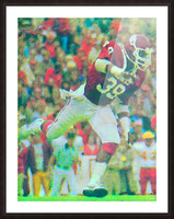 All American Kevin Murphy 39 Defensive End Oklahoma Football Art_OU Sooners Wall Art Picture Frame print