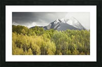 Kebler Pass  Picture Frame print