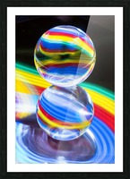 Crystal Ball Picture Frame print