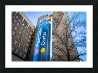 Marta Peachtree Center Sign   Atlanta GA 1823 Picture Frame print