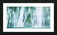 The Flowing Wall Picture Frame print