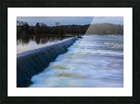 Savannah River Rapids in Columbia County   Augusta GA 6254 Picture Frame print