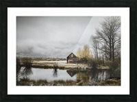 The Cabin Picture Frame print