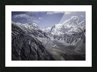 Everest Picture Frame print