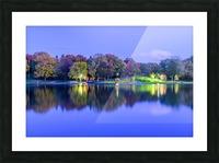 Beaver lake reflection Picture Frame print