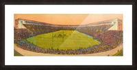 Vintage Football Stadium Art (1919) Picture Frame print