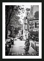 Raining in Amsterdam Picture Frame print