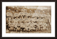 1915 Boston Red Sox Team Photo Picture Frame print