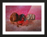 Chocolate Candy Picture Frame print