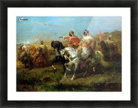 The Skirmish Picture Frame print