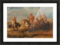 Bedouins on Horseback Picture Frame print