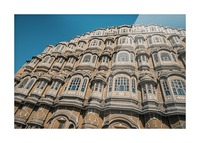 The Fortress - Hawa Mahal II Picture Frame print