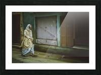 Varanasi Window - The Spy Picture Frame print