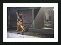 Varanasi Window - Walker Picture Frame print