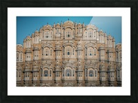 The Fortress - Hawa Mahal Picture Frame print
