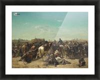 An Ottoman encampment Picture Frame print