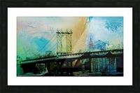 Manhattan Bridge Picture Frame print