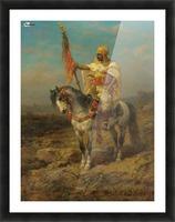 Arab rider Picture Frame print