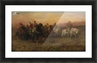 Arab patrol Picture Frame print