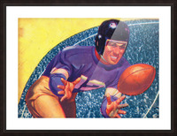 vintage football posters retro sports art print Picture Frame print